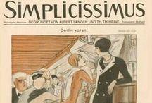 "Ludwig Kainer per ""Simplicissimus"" / Ludwig  Kaiser illustrations"