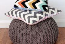 Crochet..pillows
