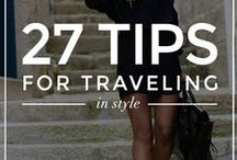 Fab Travel Tips / A collection of tips on budgeting, packing, making your itinerary and much more!