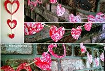 Valentine's Day Crafts, Decor and More / Valentine's Day crafts and decorating ideas. Homemade decorations, DIY, and craft tutorials inspired by Valentine's Day. Handmade gift ideas and printables.