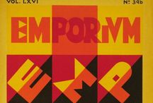 EMPORIUM / Important  Italian Art Magazine 1865-1965  ☆  www.ebay.it