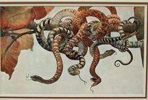 "Art Nouveau Prints, Decorative Arts 1910 / Prints are taken from the  ""MODELLI D ARTE DECORATIVA"" published by Bestetti & Tuminelli ( 1910) ."