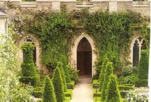 Gothic / Gothic Garden Inspiration for a new project.