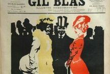 GIL BLAS / Gil Blas (or Le Gil Blas) was a Parisian literary periodical named for Alain-René Lesage's novel Gil Blas. It was founded by the sculptor Augustin-Alexandre Dumont in November 1879. Ceased public. 1938.