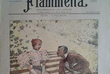 Fiammetta / Fiammetta : Rare italian magazine  1895 1896
