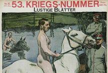 "Lustige  Blatter / Lustige Blätter was a satirical weekly berlinois. It appeared about 1852 and stopped in 1943. Its subtitle was "" schönstes buntes Witzblatt Deutschlands ""."