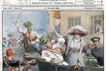 La Domenica del  Corriere / La Domenica del Corriere è stato un popolare settimanale italiano fondato a Milano nel 1899 e chiuso nel 1989.