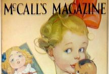 """Mc Call's Magazine / McCall's was a monthly American women's magazine that enjoyed great popularity through much of the 20th century, peaking at a readership of 8.4 million in the early 1960s. It was established as a small-format magazine called The Queen in 1873. In 1897 it was renamed McCall's Magazine—The Queen of Fashion (later shortened to McCall's) and subsequently grew in size to become a large-format glossy. It was one of the """"Seven Sisters"""" group of women's service magazine (Wikipedia)"""