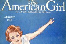 The American Girl / U. S. A.  Magazine