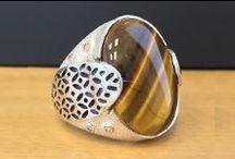 Agor Koleksiyonu / El Yapımı Gümüş Erkek Yüzük   #rings #silver #jewelry #elmasis
