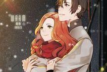 Зима аниме