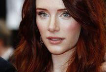 Hair: Red