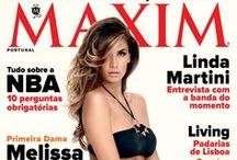 MAXIM Portugal / Capas da revista MAXIM Portugal MAXIM Portugal's covers