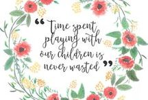 Play Time! / Fun activities to keep baby and kids healthy and happy!