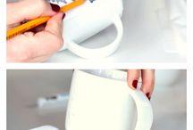 zelf maken / multicolor krijt; recyclen die restjes!