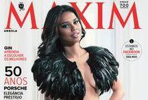 MAXIM Angola / Capas da revista MAXIM Angola MAXIM Angola's covers