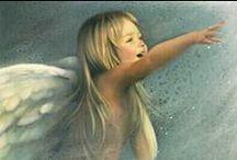 Angeles - Angels / by Almas De Colores