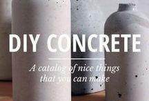 Concrert d.i.y ideas