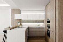 kitchen | white&wood