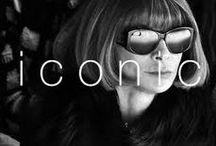 Iconic / From models and muses to designers and photographers. This is our list to you! xo