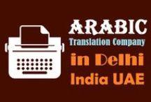 Arabic Translation Services in Delhi-New Delhi