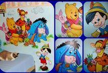 Painted murals / Murals for kids