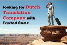 Dutch Translation Services Proivder / TridIndia offer is the best dutch translation services provider agency by dutch translators