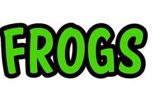 CLIP ART - FROGS - CLIPART / VARIOUS FROGS / by Melody Bray