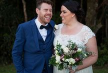 LLP Real Weddings | Troy + Lauren's Wedding / Troy + Lauren were married in the Gold Coast Hinterlands in a stunning ceremony on the edge of Binna Burra Mountain Lodge. Think Boho meets laid-back Australian wedding vibes!