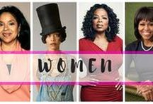 Women / I Hear That Girl strives to highlight the awesomeness and beauty that is being an extraordinary black woman. View our History, Bosses, Mothers, and Women On Purpose.