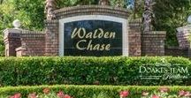 Walden Chase, Ponte Vedra, FL 32081 / Walden Chase is a community just outside of Nocatee approximately 530 homes.  The community has large mature canopies of trees and two entrances. Homeowners and Walden Chase pay no CDD fee like neighboring communities of Nocatee, however enjoy the same schools, shopping and many amenities like Nocatee's Trailways and parks.  These homes range in price from $200,000 to $400,000, home size range from 1,700 SF to 3,500 SF and include 3, 4 and 5 bedroom floor plans built between 1999 and 2008.