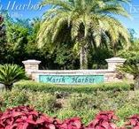 Marsh Harbor in Palm Valley / Marsh Harbor, a community of luxury and waterfront homes, is tucked away along the western bank of the Intracoastal Waterway in Ponte Vedra Beach. This secluded, gated neighborhood takes full advantage of the land's natural beauty with streets that wind around the marsh and sceniccanopies of old oak trees.