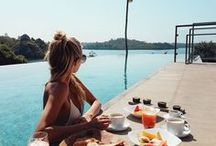 Breakfast Dreams / Overlooking, or even in, the pool. Breakfast at Tri is a delicious combination of local dishes, fresh tropical fruits and so much more.