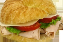 Croissant Sandwiches / Priory Fine Pastries now has new croissant sandwiches on the menu!