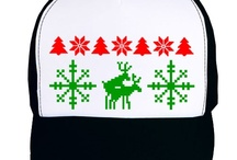 Ugly Christmas Sweater Style Shirts &  Hats / by Off Center