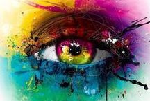 Ocular Art / Eyes are the window to your soul, and they can express even more when used in pieces of art. Take a moment to appreciate the talent some people possess.