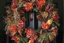 Welcome! Beautiful Door Wreaths