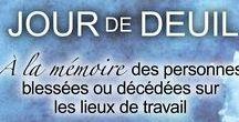 Jour de deuil national / Le 28 avril est désigné Jour de deuil national, une journée pour honorer les travailleurs décédés ou blessés sur les lieux de travail et réitérer notre engagement envers la sécurité des travailleurs. http://cchst.ca/events/mourning/