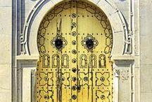 Maroccan Doors