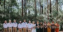 BRIDAL PARTY / Bridal Party photos and clothing ideas by Perth Wedding photographer Kate Drennan Photography