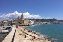 Original Sitges / Great town on the Mediterranean Sea. #sitges #beach #tapas #fiestamayor #gay #carnival #filmfestival #culture #cava