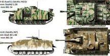 military camo colour plates