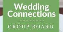 Wedding Connections Group / A board created to find inspiration for all things wedding related. To contribute your wedding related pins... Please follow all boards by Avrils Showers and and send me a message OR email me at: AvrilsShowers@gmail.com with WEDDING CONNECTIONS in the subject line No Spammers, No Adult Content. 5 pin limit per day.