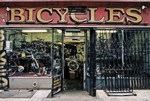 Bicycle Stores / Interesting purveyors and fixers of bikes.