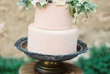 """wedding dessert table / Get inspired by this curated collection of wedding dessert table images, from traditional tiered wedding cakes to more unique wedding dessert options like homemade pies and donut """"wedding cakes""""."""