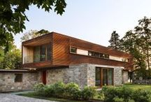 Modern and classic houses / Nice houses around the world.