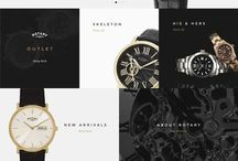 Luxery webdesign / A collection of high end jewelry, watch & fashion websites