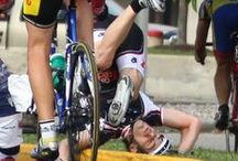 Bike Falls / Some cycling tumbles that make us cringe.