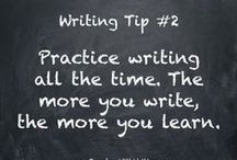 Writing Tips / Advice, tips, trends, and inspiration to help you write and stay writing!