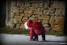 Ordesa Invernal con bebe / Un paseo por Ordesa con la peque..